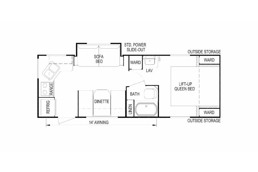 Floor plan for STOCK#SH000412